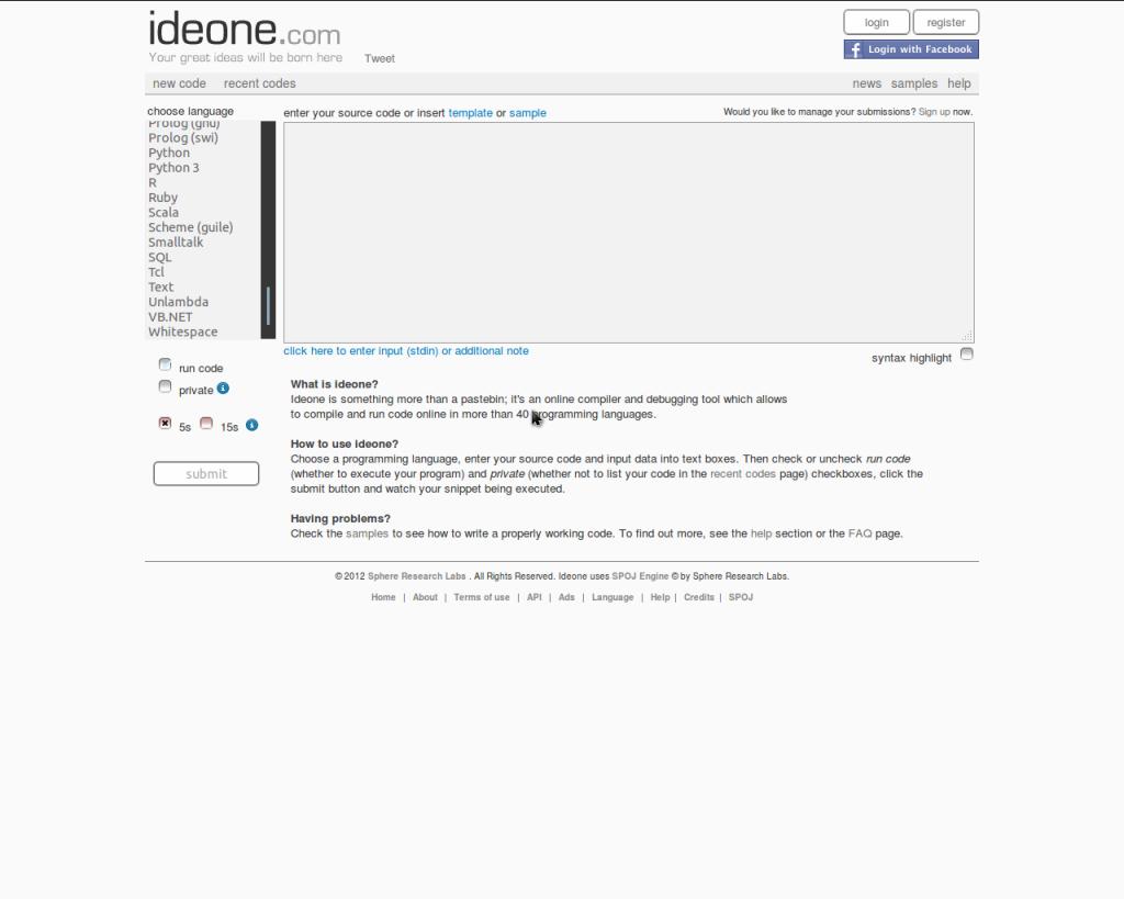 List Of Online Compilers – Techno Krat
